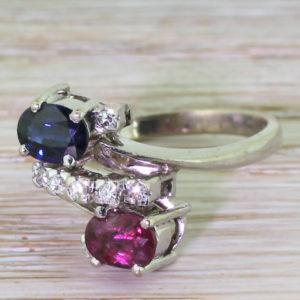 avant garde silver ring