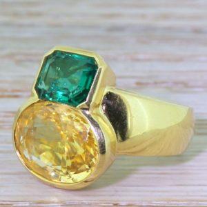 avant garde gold ring