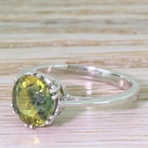 vintage sapphire engagement