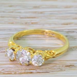 Victorian diamond ring
