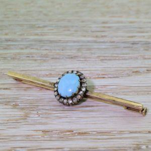 tourmaline pin brooch
