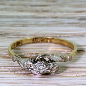 cheap antique engagement ring