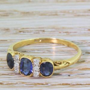 edwardian sapphire ring