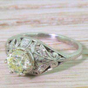 filigree edwardian ring
