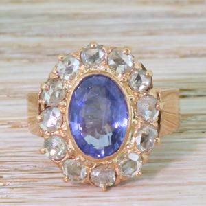 Art Deco Sapphire